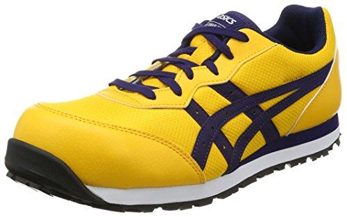 [アシックス] ワーキング 安全靴/作業靴 ウィンジョブ CP201 JSAA A種先芯 耐滑ソール メンズ ゴールドフュージョン/アストラルオーラ 21.5