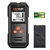 Detector de Pared,LOMVUM LW10 3 en 1 Detector de Metal, Madera y AC Cable, Pr...