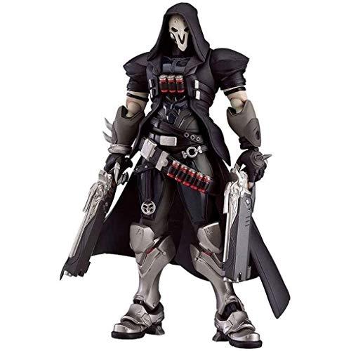 Anime Figura de acción muñeco, Overwatch OW Anime Acción Figura Reaper Gabriel Reyes PVC Figuras Coleccionable Modelo Estatua Estatua Toys Desktop Ornamentos