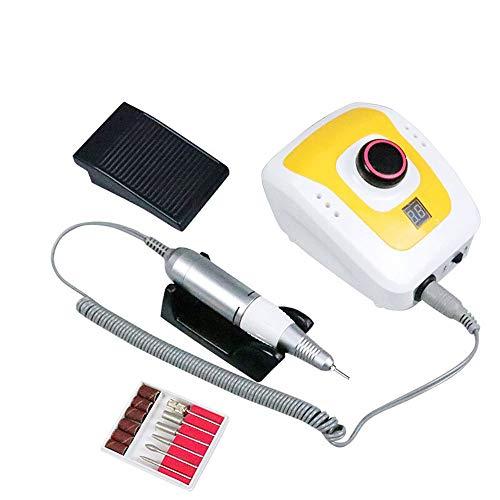 UV-Lampe für Nägel 65W 35000RPM Nagelbohrmaschine Kein Hitze Schwerer Griff Fräser Nagellackentferner DM206 Nagel Master Nagel Maniküre Machine LED-Lampe für Gelnägel