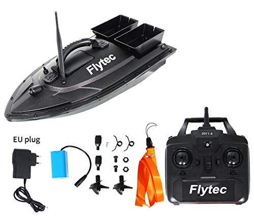 Eariy Tragbares Fischfinder Futterboot,500M Angeln RC Boot Ferngesteuertes Köder Boot,Fischköder 1.5kg,RC Köderfischfinder Schiff Köder Angelnest