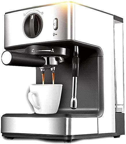 Koffiezetapparaat Espresso Maker Verwijderbaar waterreservoir melkopschuimer hydrofoorpomp Pre-cooking Functie verwarmingssysteem Stainless Steel WKY
