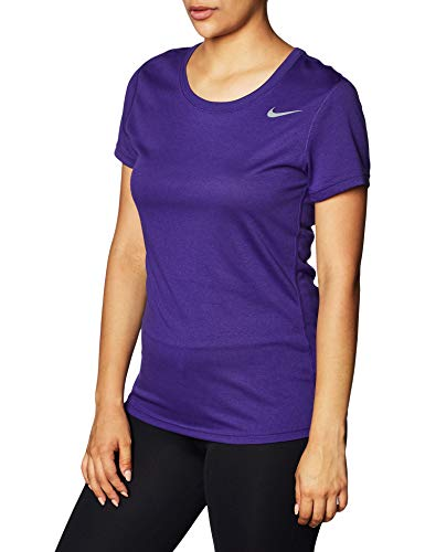 Nike Women's Dri-Fit Legend T-Shirt (Large, Purple)