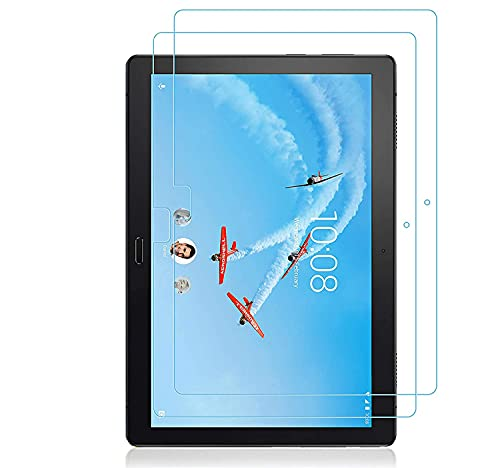 [2 unidades] Protector de pantalla para Lenovo Tab P10 Vidrio Templado para Lenovo Tab P10