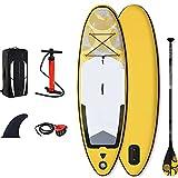 Surfboards Stand Up Paddle Board Gonfiabile 8'x30''x4 '' con Accessori Piattaforma Antiscivolo per Zaino, pagaia e Pompa a Mano, Barca in Piedi per Paddle Board per Giovani Adulti