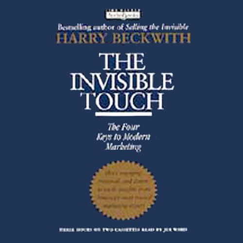 The Invisible Touch audiobook cover art
