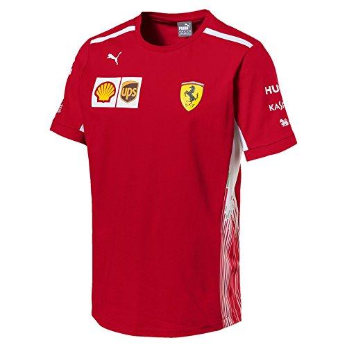PUMA SF Team tee Camiseta, Hombre, Rojo (Rosso Corsa), L