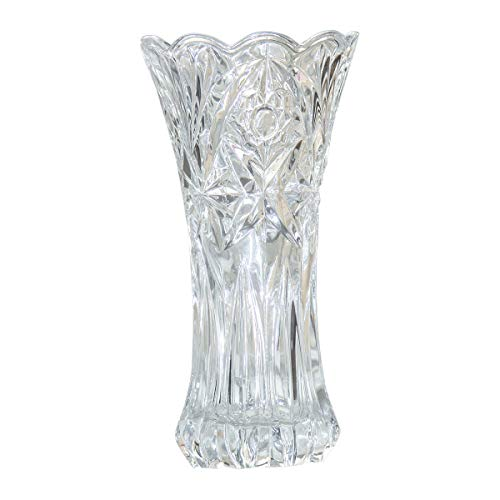 Creative Concise Leaves Pattern Flower Vase with Iron Stand for Arranging Bouquets Dried Flower Water Planting Gray HaloVa Vase Modern Round Decorative Glass Vase Small