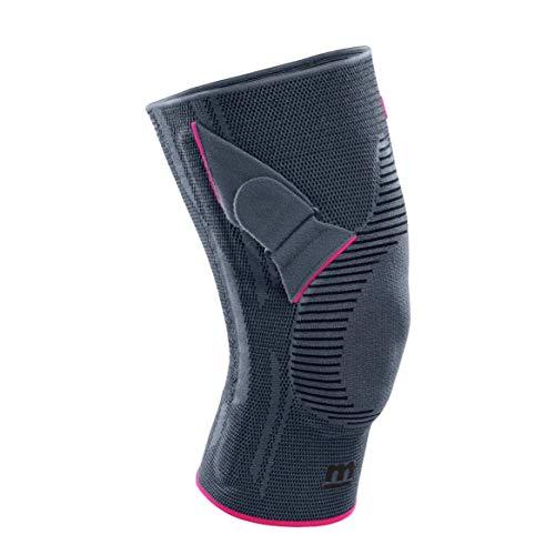 medi Genumedi PT - Patellabandage links | silber | Größe III | Kniebandage zur Verbesserung der Patellaführung