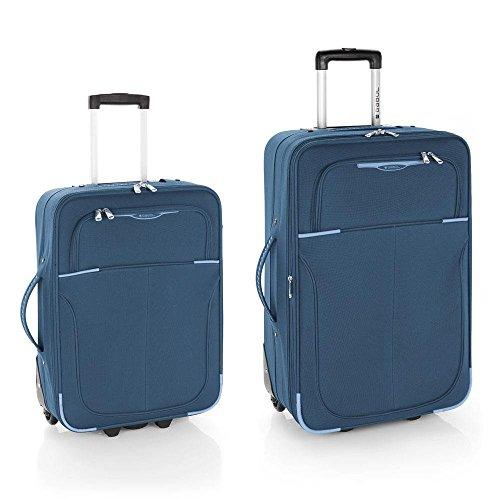 Gabol Pack de Dos Maletas, 66 cm, 30 L / 63 L, Azul Petróleo