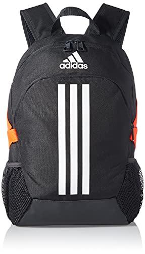 adidas BP Power V S Sports Backpack, Unisex-Child, Carbon/White/Vista Grey/App Solar Red, Talla única