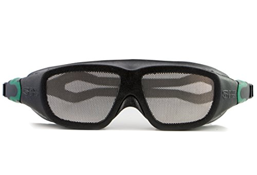 Gafas de seguridad Safe Eyes anti-vaho en acero inoxidable, Stainless Steel Mesh No-Fog Safety Goggles