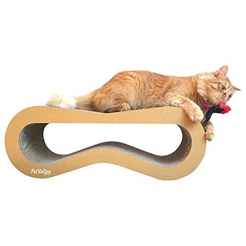 PetValley Rascador para Gatos 100% Made in Italy | Producto de cartón...