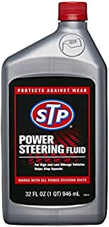 STP POWER STEERING FLUID Protects power steering systems 32 oz (946 ml), 17927