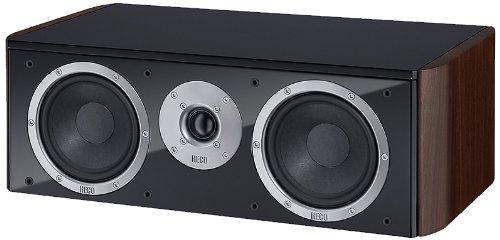 Heco Music Style Center 290W schwarz Lautsprecher–Lautsprecher (Lautsprecher, XLR, Boden, geschlossen, Zentrum, 2,5cm)