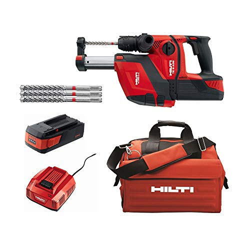 Hilti 36-Volt B36/2.6 Lithium-Ion 1/2 in. SDS Plus Cordless Rotary Hammer TE 6-A36 Compact with DRS Kit