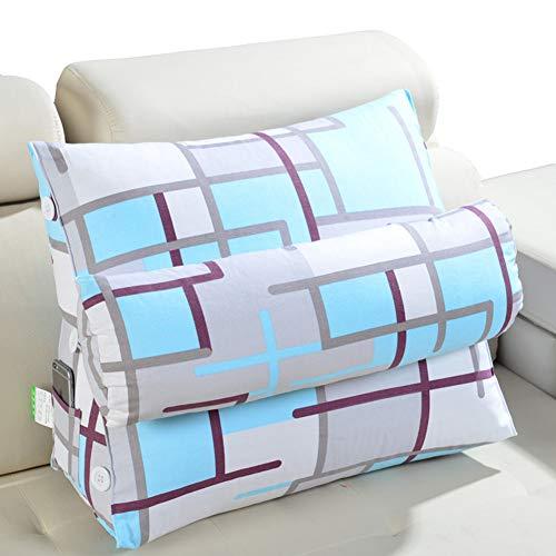 LYRYIH Bed fluidsysteem Het driehoekige kussen, zachte roller tatami-matten, kussen voor op kantoor, op de bank en een taille