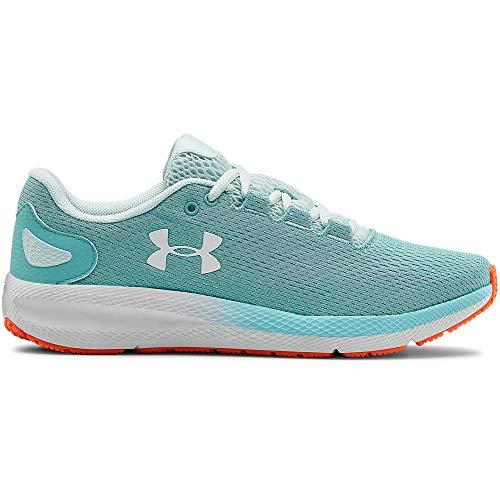Under Armour Women's Charged Pursuit 2 Running Shoe, Blue Haze (400)/White, 12 M US