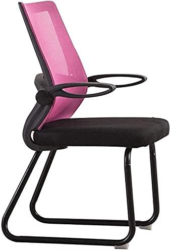 N&O Renovierungshaus Komfortabler Drehstuhl Computerstuhl Haushaltsverstellbare Armlehne Spielstuhl Einfache Ergonomie E-Sportstuhl Wohnheimzimmer Boss Bürostuhl Nenntragfähigkeit: 440Lbs Orange