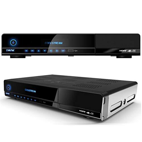 Coolstream CST Tank HDTV Satelliten Receiver (2x DVB-S2 Tuner)