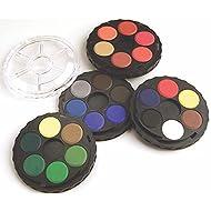 Koh-I-Noor Opaque Watercolor Paint Wheel, 24 Colors, 1 Each (FA171506.BC)