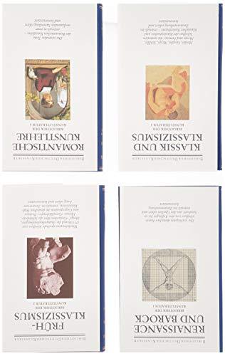 Bibliothek der Kunstliteratur, Ln, 8 Bde., Bd.1-4, Von den Anfängen bis zur Romantik, 4 Bde.