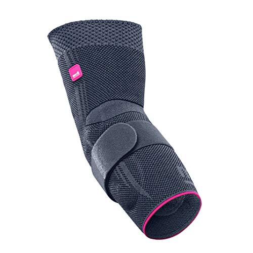 medi Epicomed - Ellenbogenbandage | silber | Größe VI | Kompressionsbandage zur Stabilisierung des Gelenks bei Tennisarm oder Golferarm | Beidseitig tragbar