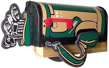 Golf Bag Mailbox Post Mount