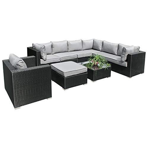 Hansson.Sports - Möbelsets in schwarz, Größe 75 x 65 x 64 cm