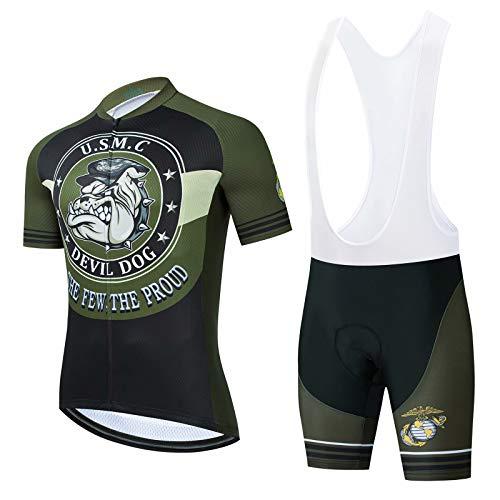 marine corp cycling jersey - 2