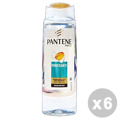 Set 6 PANTENE Shampoo 1-1 Purificante 250 ml Prodotti Per capelli