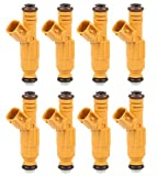 MOSTPLUS 0280155857 822-11154 Fuel Injectors Compatible for 99-20 Mercury Grand Marquis 99-01 Lincoln Town Car 99-20 Ford 4.6