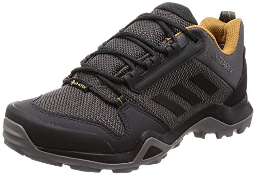 adidas Terrex AX3 GTX, Scarpe da Trekking Uomo, Grey Five/Core Black/Mesa, 41 1/3 EU