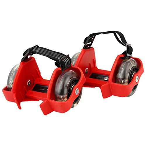 jfhrfged Verwandeln Sie Ihre normalen Schuhe in Sekundenschnelle in Rollschuhe mit diesen Flash-Rollschuhen (F)