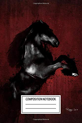 Composition Notebook: Animals From Sketch To Digital Painting The Wild Wide Ruled Note Book, Diary, Planner, Journal for Writing