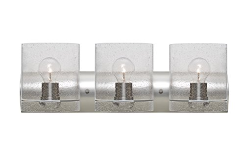Besa 3WZ-CELTICBB-SN Contemporary Modern Three Light Wall Sconce from Celtic Collection in Pewter, Nickel, Silver Finish,