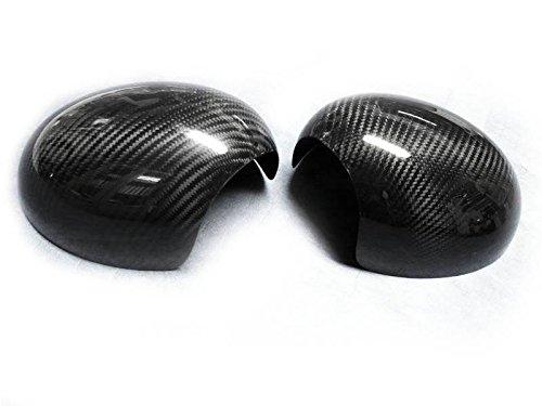 (2) en Fibre de Carbone Porte miroirs Caps Couvertures pour 07–13 R55 R56 R57 R58 R60