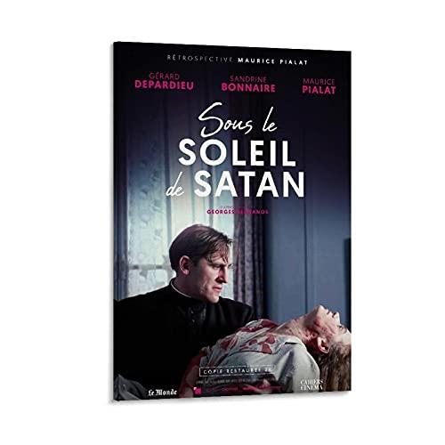 NCCDY Posters Affiche de film sous le soleil de Satan pour décoration de salon, 50 x 75 cm