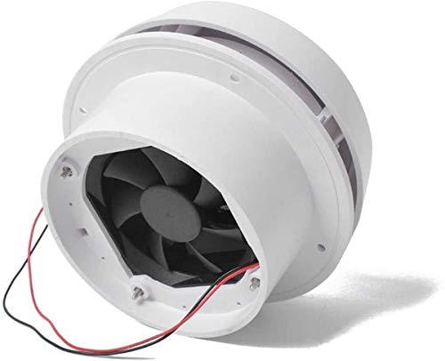 Exhaust Cooling Fan -- MASO Car 12V RV Motorhome Roof Vent Ventilation Cooling Exhaust Fan Noiseless Energy-saving for Homes Trailer Travel Caravan (Fan Shell + Strong Fan)
