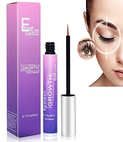 Eyelash Growth Serum, Eyebrow Enhancer Rapid Brow Lash Growing Booster for Natural Longer and Thicker, Fuller and Healthier Looking Any...