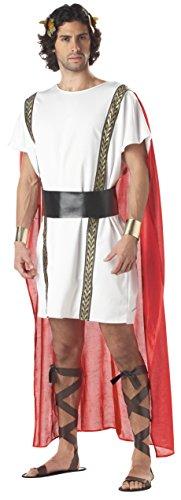 California Costumes Mens Mark Antony Adult Costume White/Red