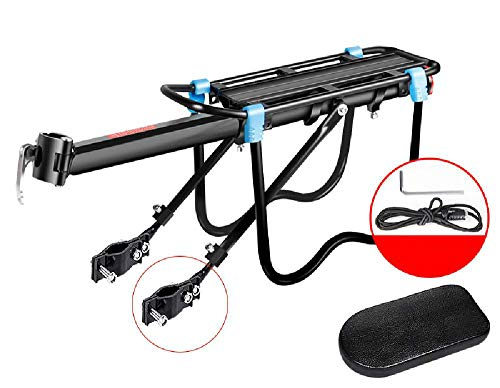 WSCF Bicycle Bicycle Rear seat Rack Rear Shelf Luggage Rack Quick Release Bicycle Manned Riding Equipment Accessories