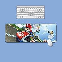 マリオ大判 マウスパッド アニメ 大型 デスクマット 超大型 ゲーミングマウスパッド ラップトップマット 防水 滑り止 耐久性 おしゃれ マウス