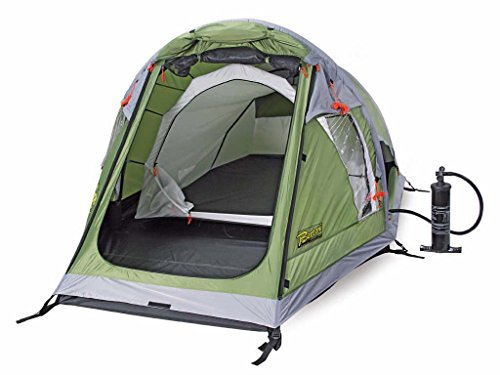 Bertoni Tende Ready 2 Air Tenda Da Campeggio Pneumatica, Verde Brosco, Taglia Unica