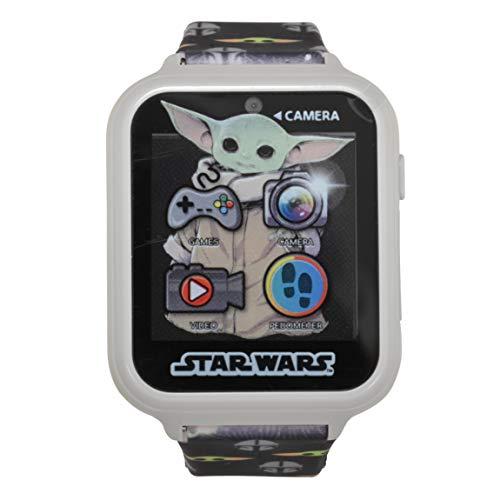 Star Wars - Reloj inteligente mandaloriano con correa estampada multicolor