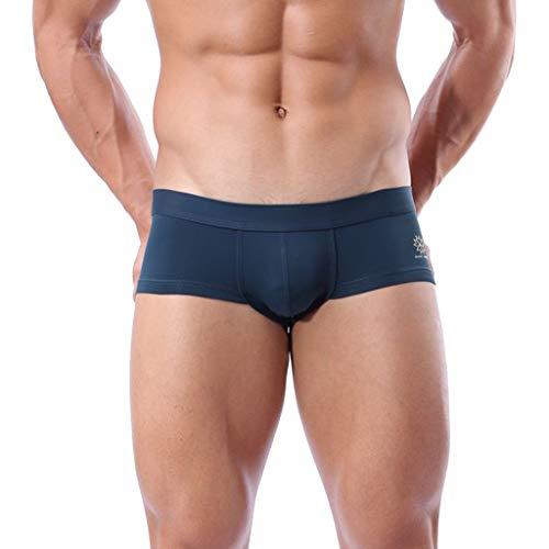 Celucke Boxer-Badehose Herren Schwimmhose Männer Badeshorts Kurze Swim Boxers Schwimmshorts Sommer Shorts Badepants Boxerbadehose, Fest sitzend | Schnelltrocknend | Chlorresistent | Jammer