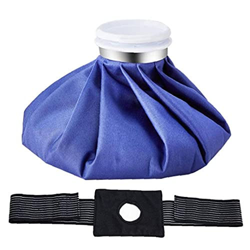 Tuimiyisou Bolsa de Hielo Paquete de Fisioterapia de Alivio de Alivio de Paquete Hot Hot Relieve Reutilizable con Envoltura elástica
