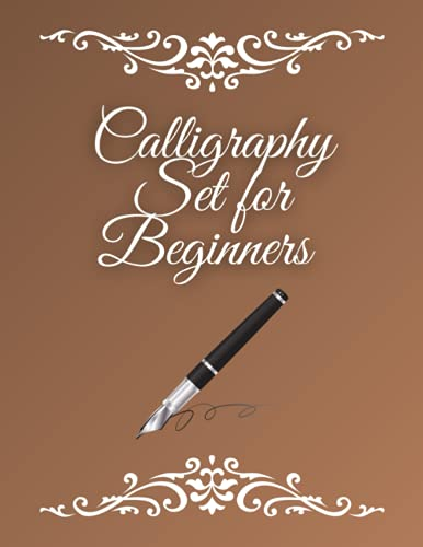Calligraphy Set for Beginners: 120 Sheet of Calligraphy Practice Paper...