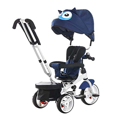 YETC Baby driewieler stoel roterende kind driewieler kind bromfiets baby vervoer
