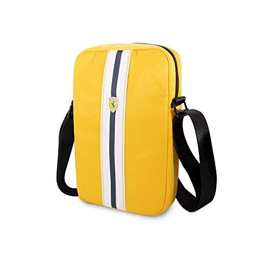 Ferrari ON Track Collection Tablet Bag 10'' Pista Nylon Metal Logo Size: 27X22X4 Ccm